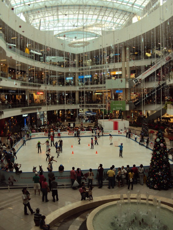 Santa Fe shopping mall in Medellin, Colombia.  Why not, right??