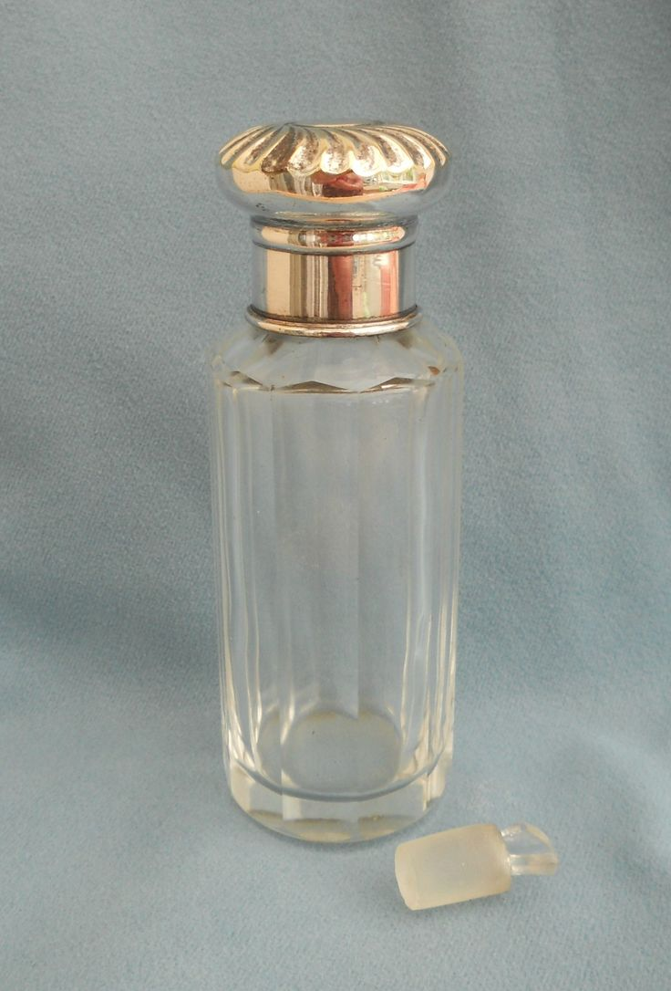ANTIQUE SCENT BOTTLE WITH GLASS STOPPER ~ NOW ON MY EBAY SITE LUBBYDOT1