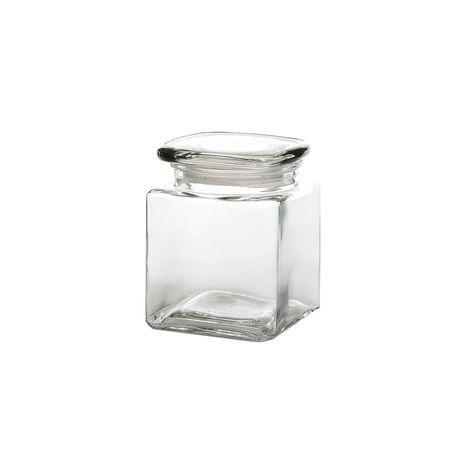 Vorratsdose Glas ca H:13 cm