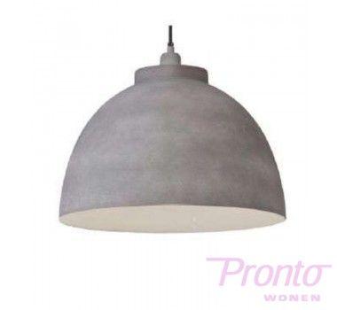 KALEMA 3019425 Hanglamp Ø45xH30cm KYLIE cement fix