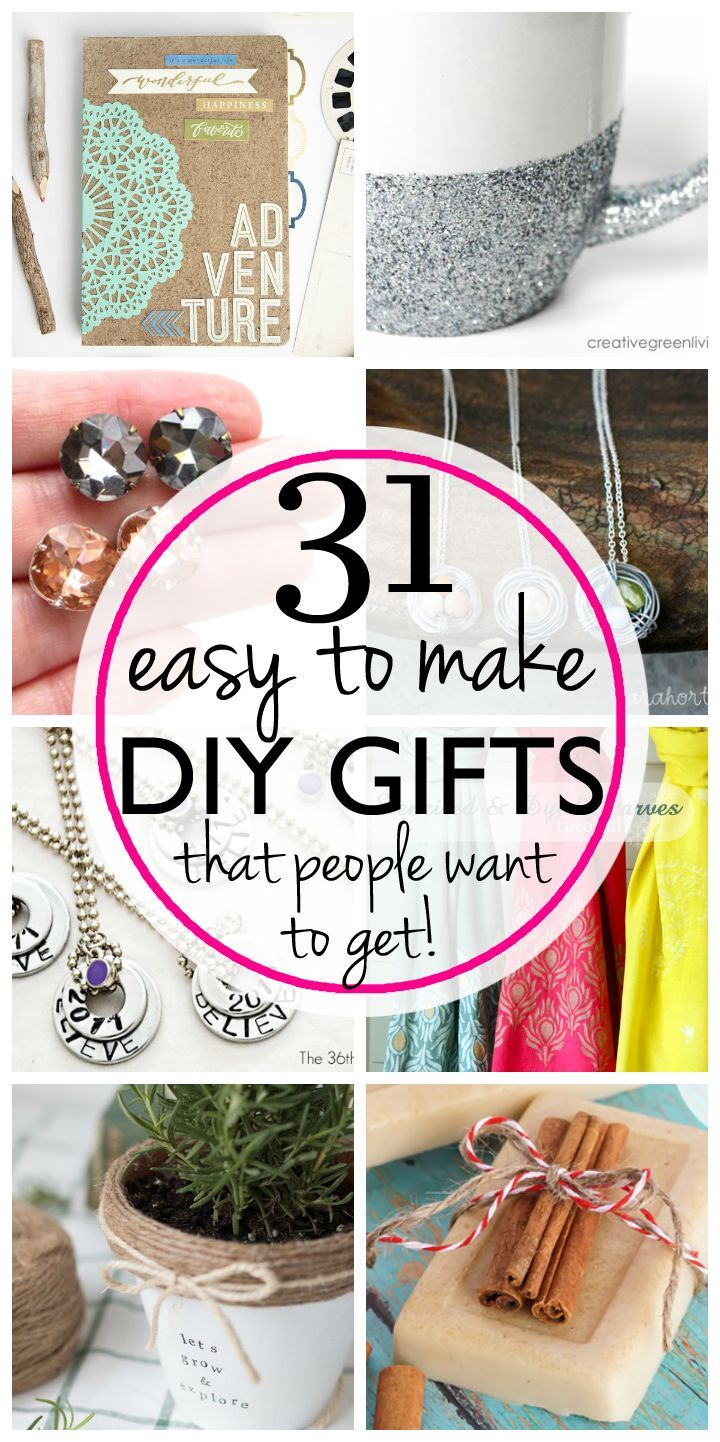 31 easy and inexpensive DIY gifts that people actually want  you to make for them!