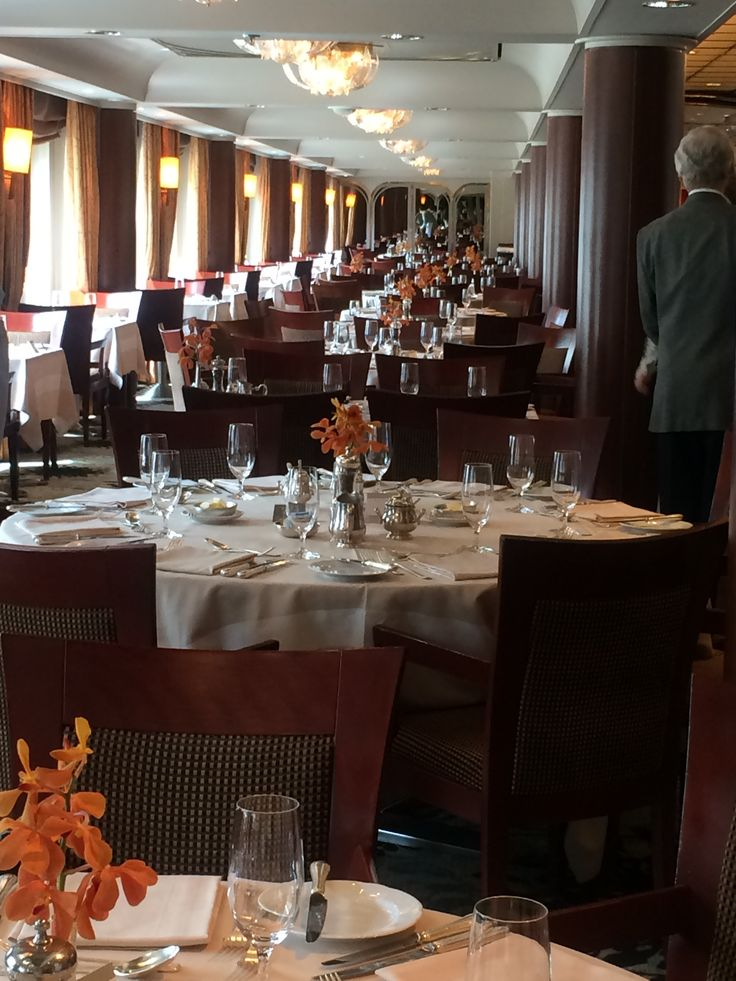 Crystal Cruises - Crystal Symphony main dining