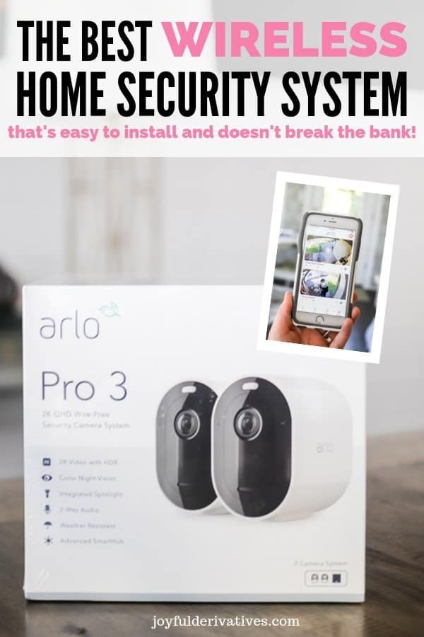 The Best Diy Home Security System With Cameras Joyful Derivatives Wireless Systems