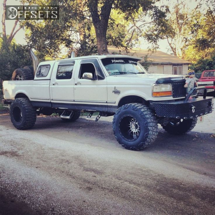 03 1 1997 F 350 Ford Suspension Lift 6 Xd Series Riot
