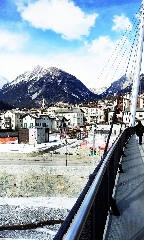 Bormio, Italia. Para hacer snowboard <3