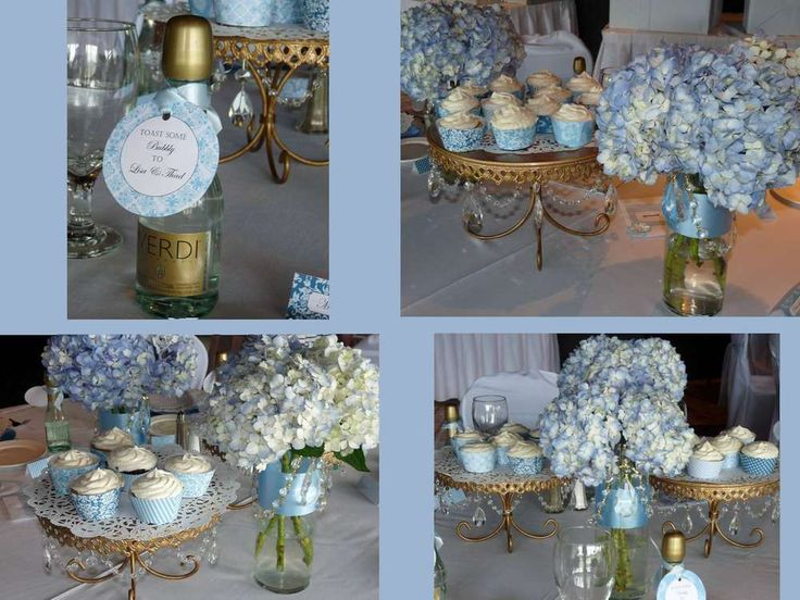 Something Blue Bridal Shower Bridal/Wedding Shower Party Ideas | Photo 2 of 7 | Catch My Party