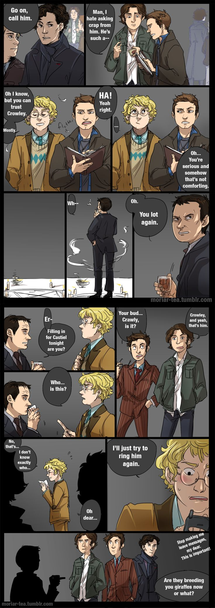 Sherlock meets the naked irene adler sherlock series 2 bbc - 2 6