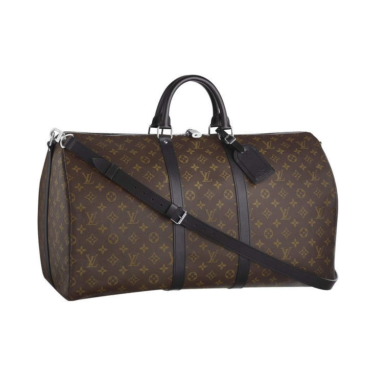 Louis Vuitton Keepall 55 Macassar My travel staple. For overnight, weekend, or weeklong. I chose this combination because it's elegant for me to use, and at the same time my husband can feel comfortable carrying it as well.