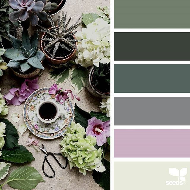 today's inspiration image for { foraged hues } is by @clangart ... thank you, Chantal, for another breathtaking #SeedsColor image share!