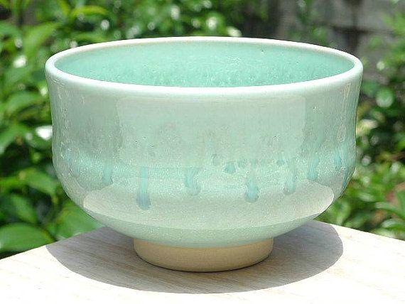 kiyomizu pottery | Japanese Pottery Japanese Tea Bowl Kyoto-Kiyomizu Ware for Green Tea ...