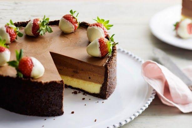 Resep Cake Coklat Keju Kukus Lembut Dan Sederhana