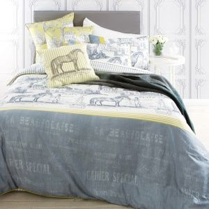Equine Grey Bed Set