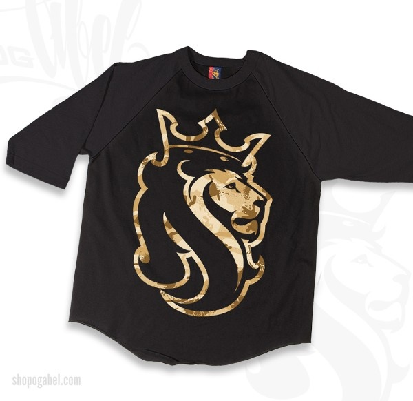 OGABEL.COM -  Desert Lion Raglan Tee, $29.95 (http://www.shopogabel.com/desert-lion-raglan-tee/)