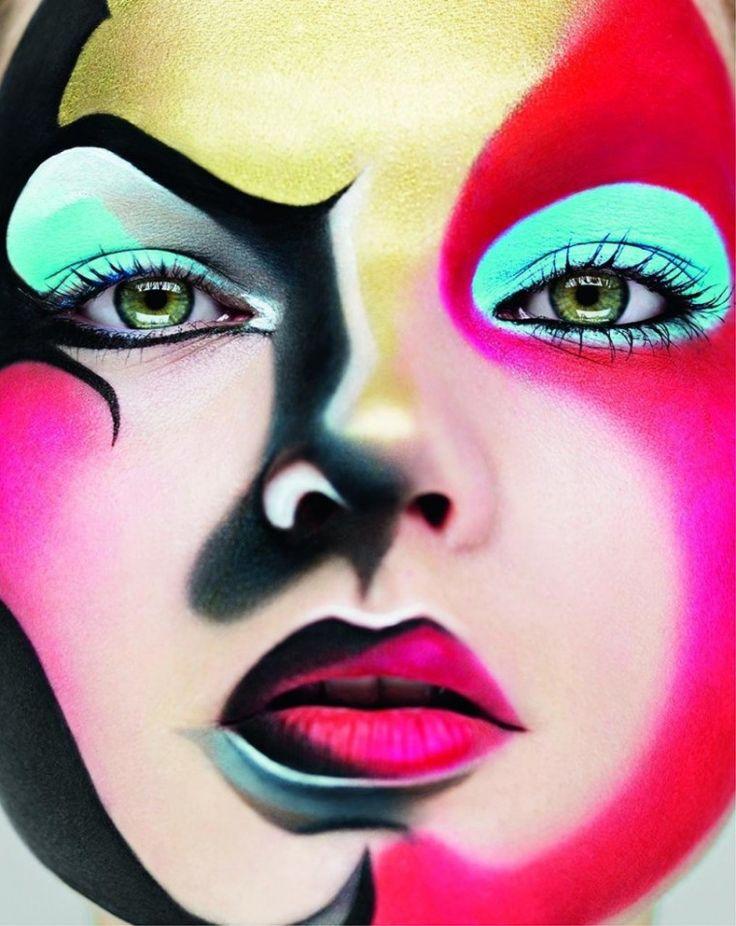 Cartoon Makeup: 612 Best Images About Makeup The Face On Pinterest