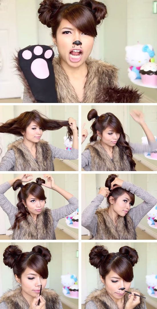 Cute Little Bear | Click Pic for 23 Quick and Easy Halloween Costumes for Women | DIY Fancy Dress Costumes for Women