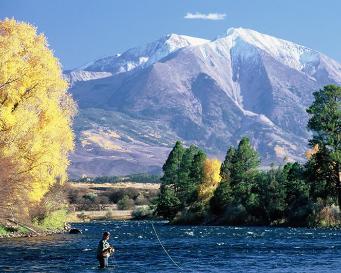 Fall Fly fishing in the Colorado high country at it's best with Fly Fishing Outfitters.