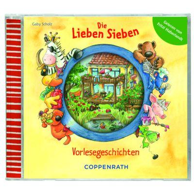Die Lieben Sieben - Vorlesegeschichten. Hörbuch gelesen von Fritzi Haberlandt.