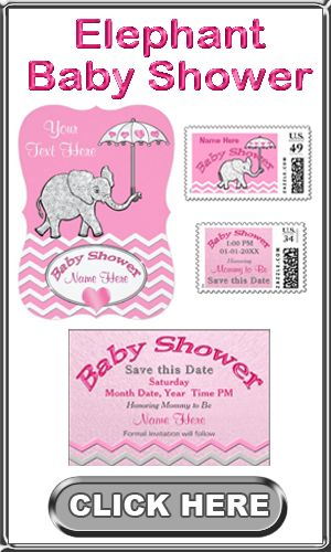 30 best elephant baby gifts images on pinterest elephant baby pink and gray elephant baby shower invitations elephant baby shower stamps thank you notes personalized baby girl elephant theme invitations and gifts negle Images