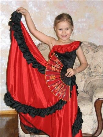 Детские карнавальные костюмы кармен