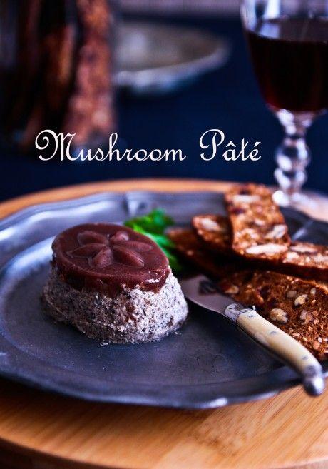 Awesome Mushroom Pate Recipe — Dishmaps