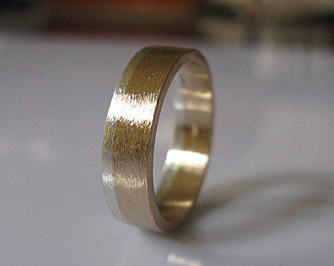 6mm Mens Wedding Ring Black Gold Ring Rustic Mens Wedding Etsy Mens Wedding Rings Black Black Gold Ring Mens Gold Wedding Band