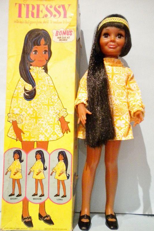 Tressy Doll Black Version from the Crissy Family RARE value $75-$300mint