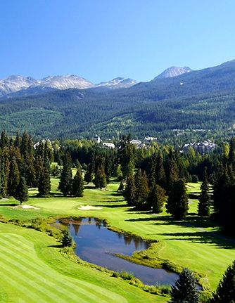 A Guide to Whistler's Best Golf Courses.