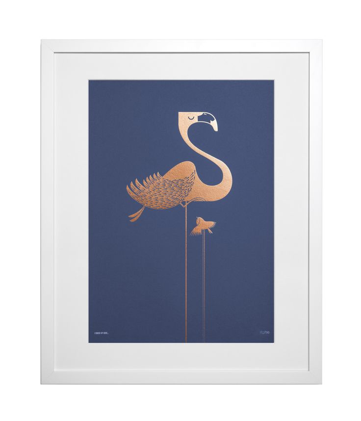 Today on the blog we're checking out designs by I Ended Up Here, who produce gorgeous illustratons across greetings cards, prints, tea towels and more. Now I just need to find space on my walls for this flamingo print!