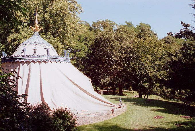 Painshill - The Turkish Tent William Kent And The Augustan Style Of Garden Design GardenVisit ...