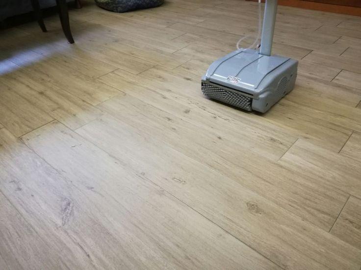 Our Floor Cleaning Machine On Wooden Flooring! Floorwash Takes Mops And  Microfibersu0027 Jobs