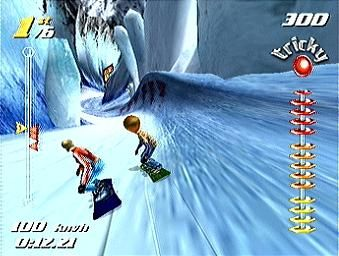 ssx tricky original game cube ssx number one, god I used to love those graphics playing it now give me a migrane