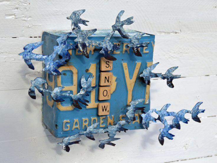 Jersey Snow Bird by hotmetalmama on Etsy