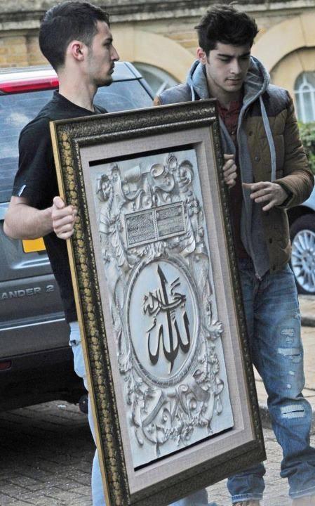 Zayn Malik, Islam, Muslim