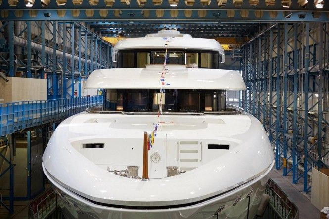 Feadship launches 73m Superyacht Hasna
