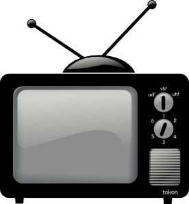 Old Television clip art - vector clip art online, royalty free & public domain