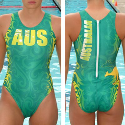 S&R SPORT INFINITY FEMALE AUSTRALIA WATER POLO SUIT