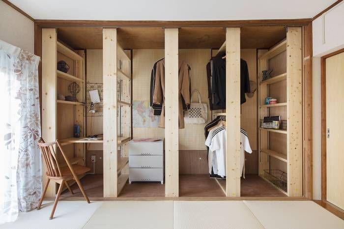 東急ハンズの「Function KIT」を使って、単なる押入れをちょっとした小部屋に!2畳分(3尺×6尺×2)の部屋がプラスできることから、3636+(ニジョー・プラス)と名付けられました。