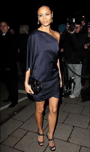 Stunning Thandie Newton has more than a few fashion tricks up her sleeve.