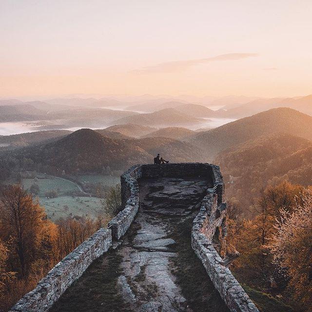 WEBSTA @ bokehm0n - Castle on the hill.