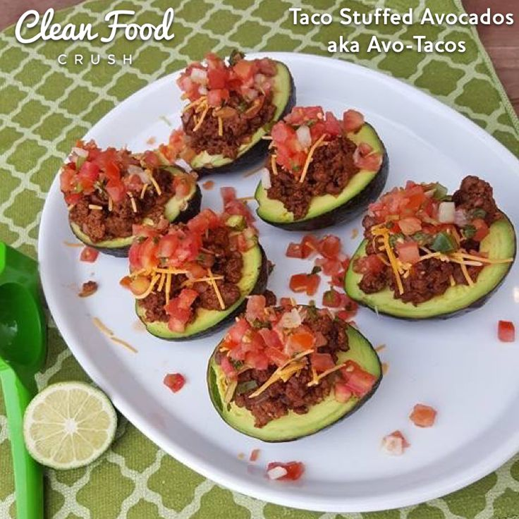 Clean Eating Taco Avocados.001