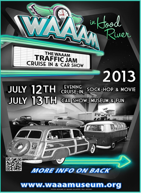 WAAAM's Traffic Jam July 12 & 13 | What: Food. Fun. Music. Come to a museum and a car show all in one great place. Don't miss our Model T Quick Build Challenge and other fun activities: Technical Sessions, Take a Drive, Vintage Kiddie Peddle, Cars, Goodies to buy. Your support in this fundraiser helps keep WAAAMs engines running! There is something for everyone