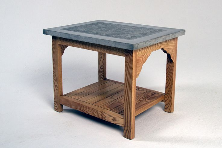 Beton table