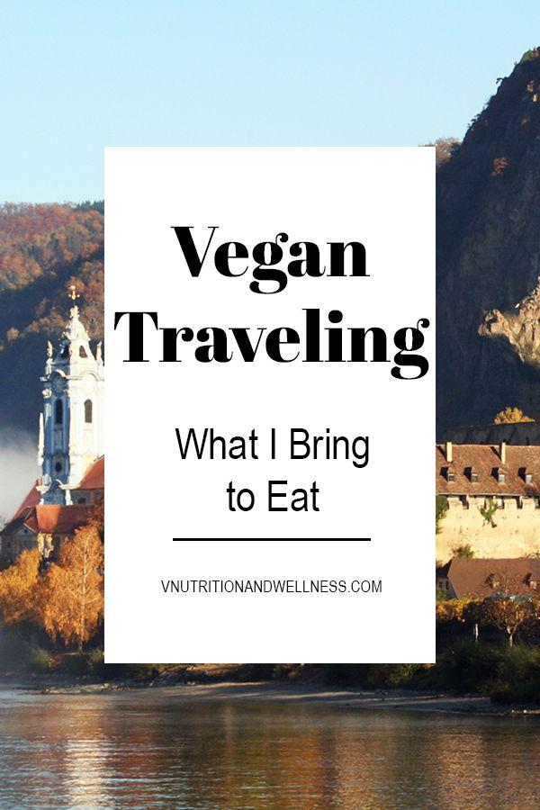 Vegan Travel: What I Bring to Eat via @VNutritionist