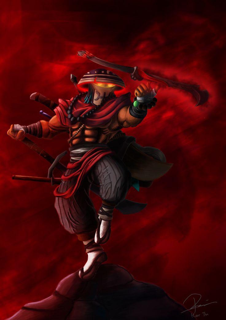 DOTA 2 Balance of the Bladekeeper