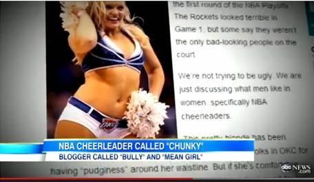 Columnist Fat-Shames NBA Cheerleader, Internet Fights Back In Style