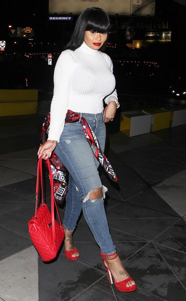 Blac Chyna from The Big Picture: Today's Hot Photos  The reality star is spotted looking trendy while out and about in West Hollywood.