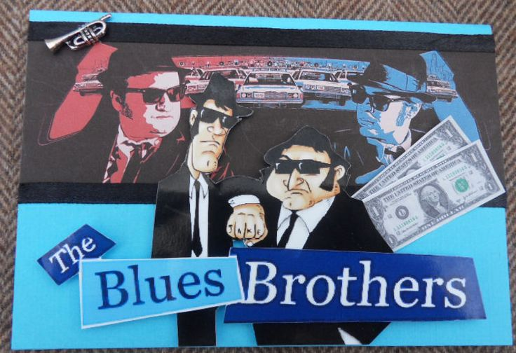 Blues brothers card