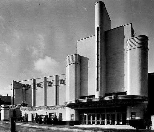 1000 images about art deco architectural buildings on pinterest - Deco moderne woning ...