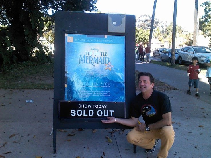 """A sold out house of a production of """"The Little Mermaid"""" that I directed/choreographed! 10/2013"""