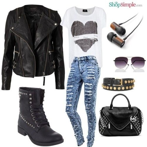 Edgy Fashion Tumblr | Different Fashion Ideas | Pinterest | Chic Rocker Chic And Style
